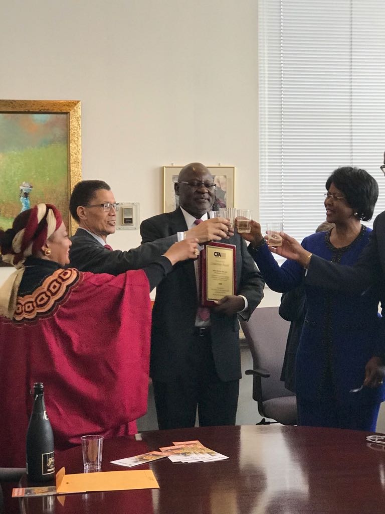A toast to the outgoing Ambassador