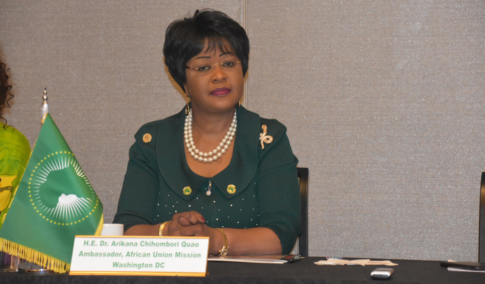 The African Union Representational Mission to the USA held its First Annual AU Mission Diaspora Retreat.